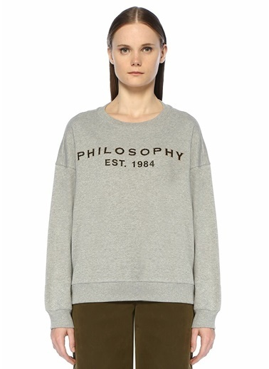 Philosophy Di Lorenzo Serafini Sweatshirt Gri